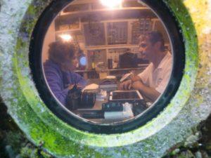 Sylvia Earle and Fabien Cousteau