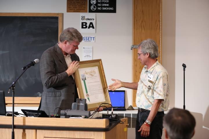 Assembly Member Mark Stone declared Boulder an honorary coastal community – Photo © Jeffrey Dubinsky