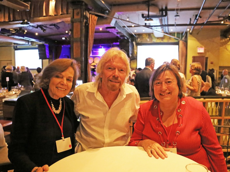 Dr. Sylvia Earle, Sir Richard Branson and Undersecretary of State for Economic Growth, Energy and the Environment Catherine Novelli attended OceanElders. © Courtney Mattison