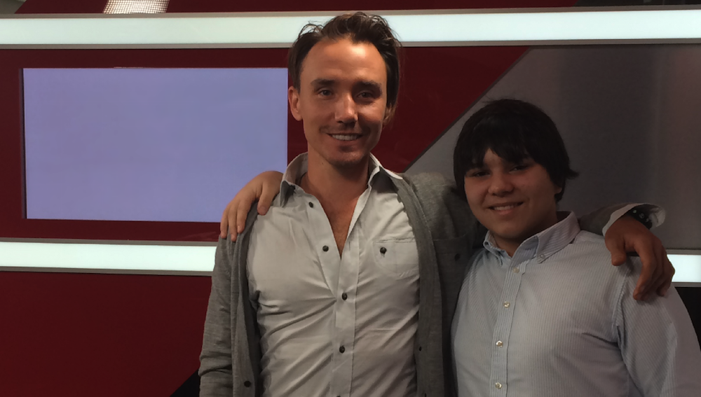 Film Directors Jonah Bryson (right) and Rob Stewart (left). © 2015
