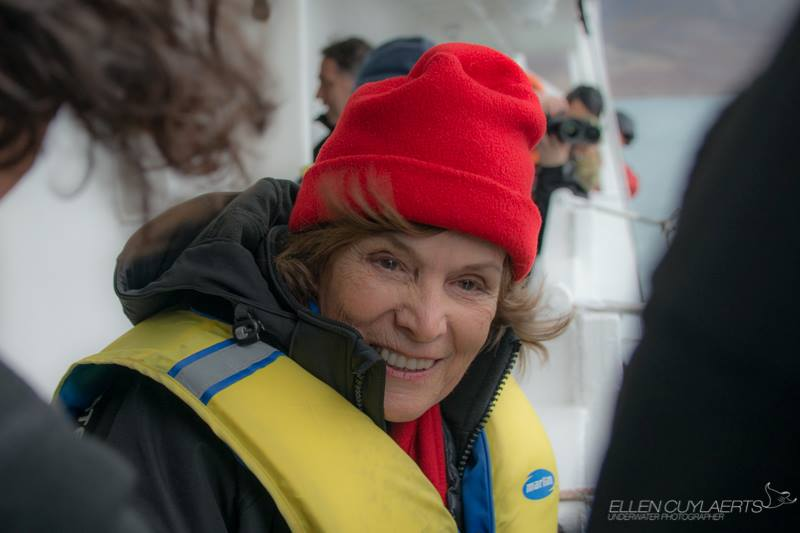 Mission Blue founder and National Geographic Explorer in Residence Dr. Sylvia Earle celebrated her 80th birthday during the expedition, and conducted her first-ever high Arctic dive!