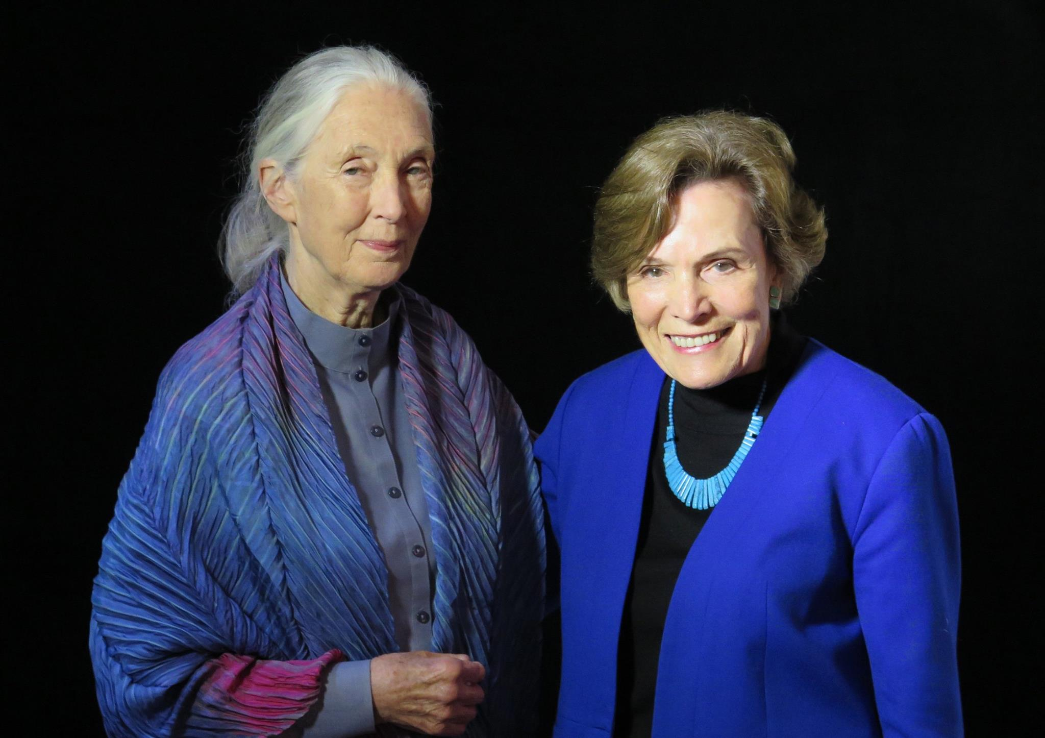 Drs. Jane Goodall and Sylvia Earle. Photo: ABC/Miami
