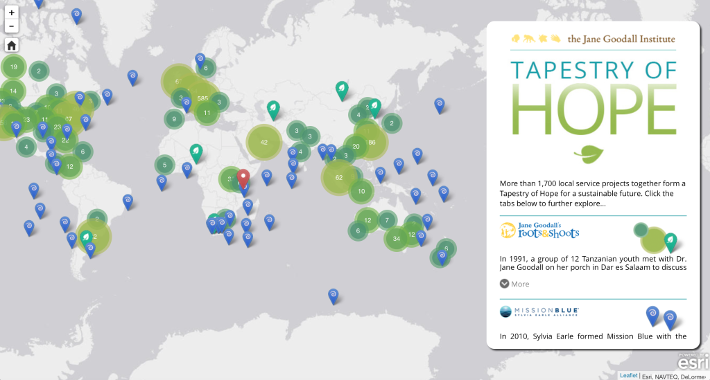 Click the map to explore the Tapestry of Hope
