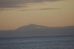 Mount Erebus at sunset © Philippa Ross